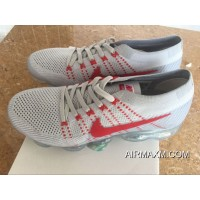 Big Discount Nike Air Vapormax Gray Red