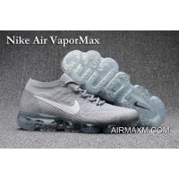 Nike Air Vapormax White Gray Shoes Free Shipping