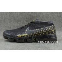 Nike VaporMax Flyknit Black Gold Top Deals