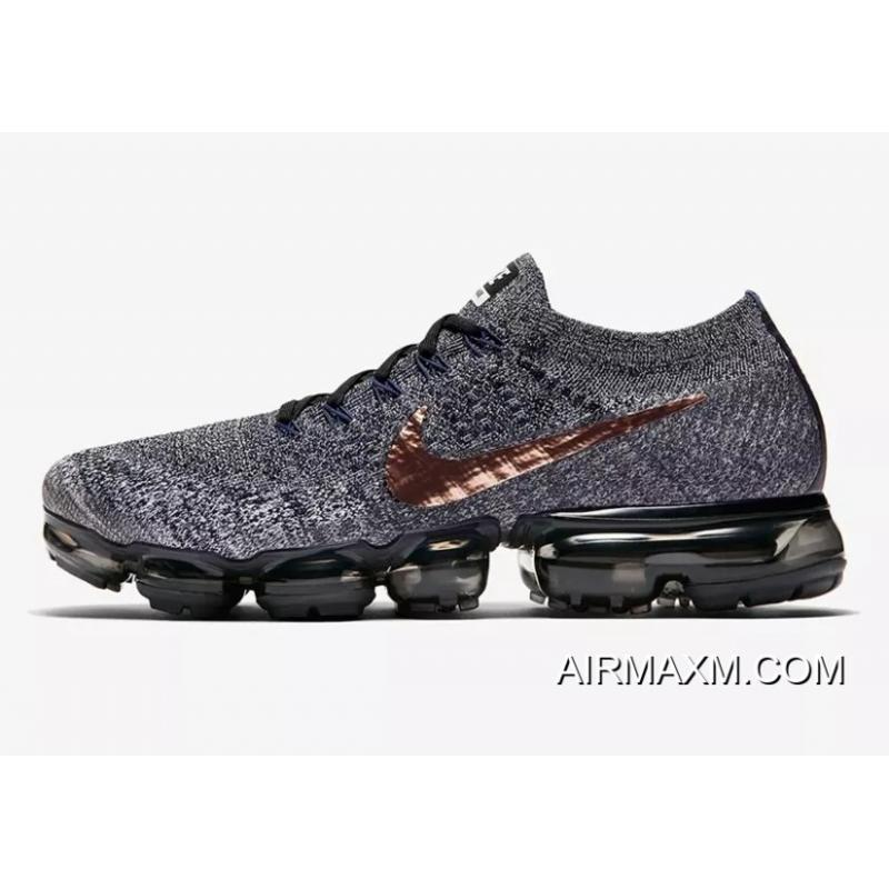 965e797f1816a Nike VaporMax Flyknit Black Grey Copper Best, Price: $95.48 - Nike ...