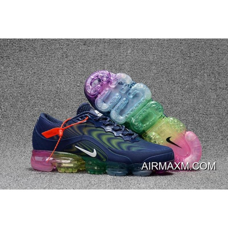 Nike Air Max 2018 Dark Blue White Colorful Women Best ... 668a9205fb