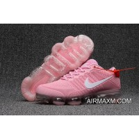 Latest Nike Air Max 2018 Leather Pink White Women