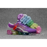 New Year Deals Nike Air Max 2018 Purple Silvery Colorful Women