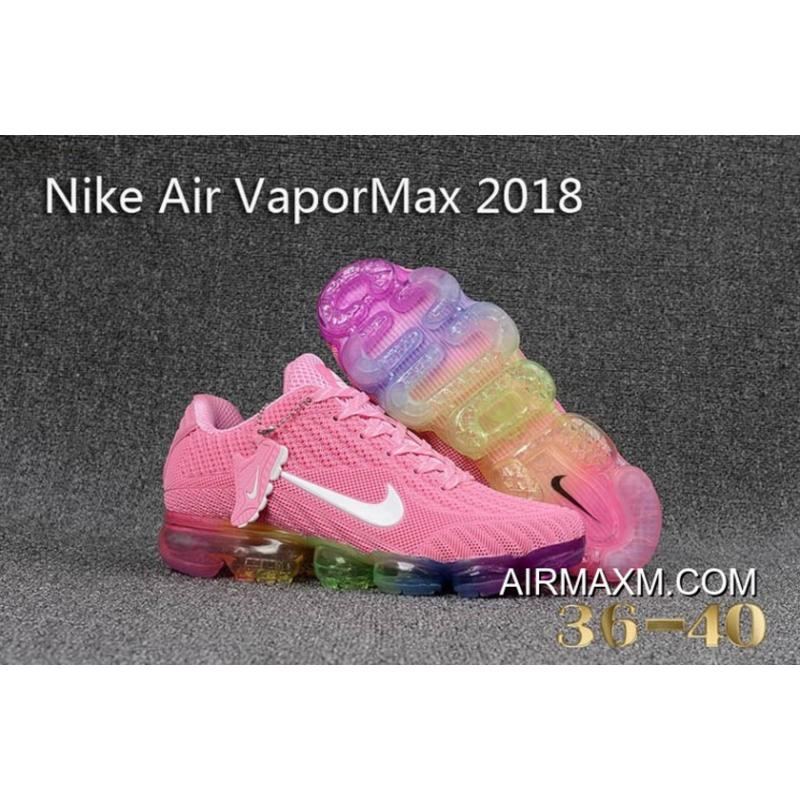 40ba78c3b330 Super Deals Nike Air Vapormax 2018 Women Pink Colorful ...