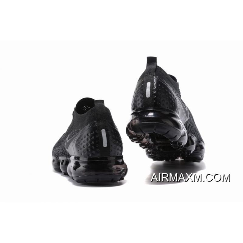 ffdbd731a608f ... Nike Air VaporMax Flyknit 2 All Black Women Authentic ...