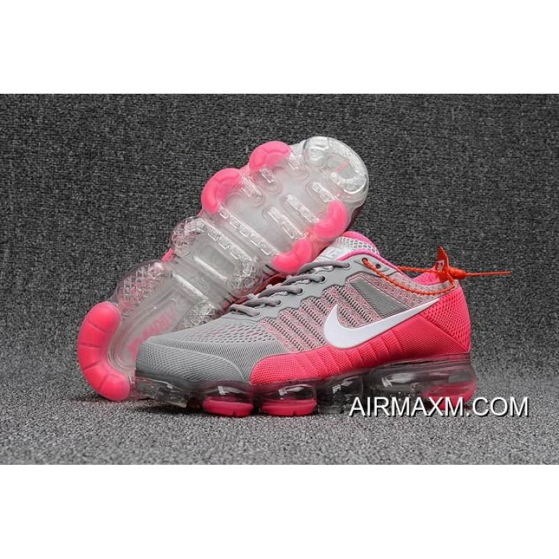 Online Women Nike Air Max 2018 Gray Pink White Shoes ... caf779cd3