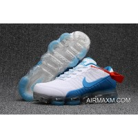 Outlet Women Nike Air Max 2018 White Blue Shoes