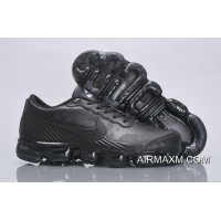 Nike Air VaporMax Leather All Black New Style
