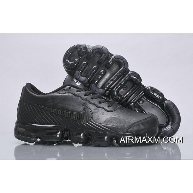 f2b31dd98f Nike Air VaporMax Leather All Black New Style, Price: $95.71 - Nike ...