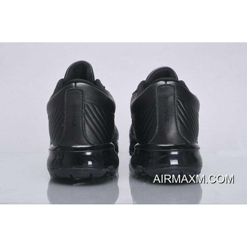 b731795323c ... Nike Air VaporMax Leather All Black New Style ...