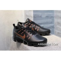 Nike Air VaporMax Leather Black Brown New Style