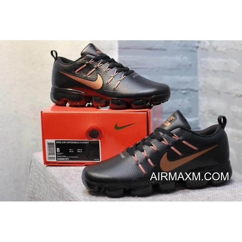 46aa017419 Nike Air VaporMax Leather Black Brown New Style, Price: $95.51 ...