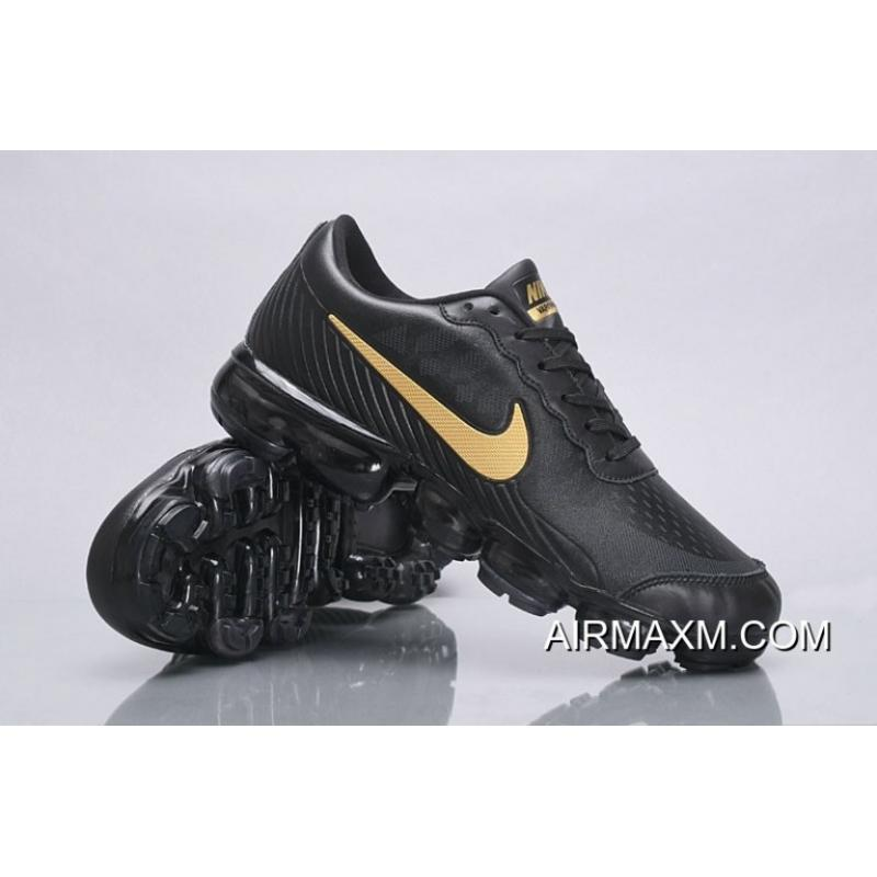 1a1e25ed42 Nike Air VaporMax Leather Black Gold Buy Now, Price: $95.32 - Nike ...