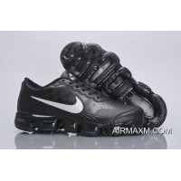 Nike Air VaporMax Leather Black White New Year Deals
