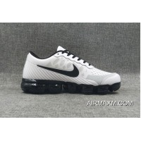 New Release Nike Air VaporMax Leather White Black