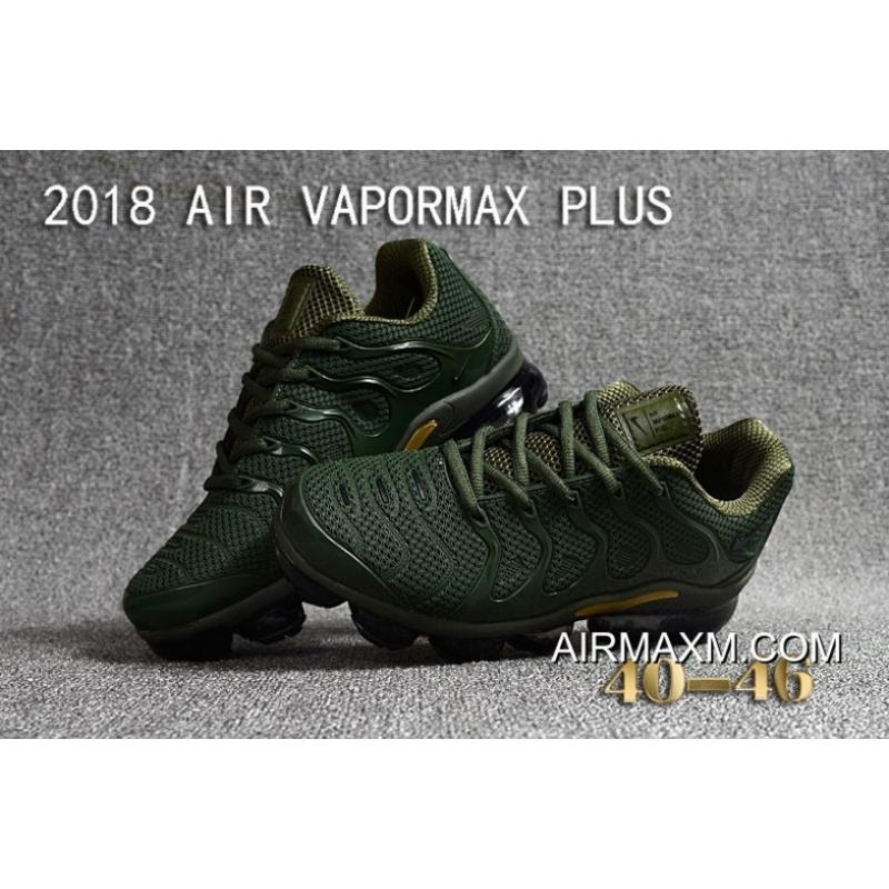 f4b9fd4af24 ... france nike air vapormax plus kpu army green golden for sale ed229 e6406