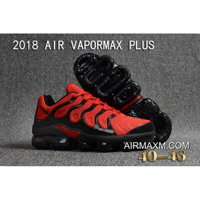 huge selection of 1794d ffaac Latest Nike Air VaporMax Plus KPU Red Black