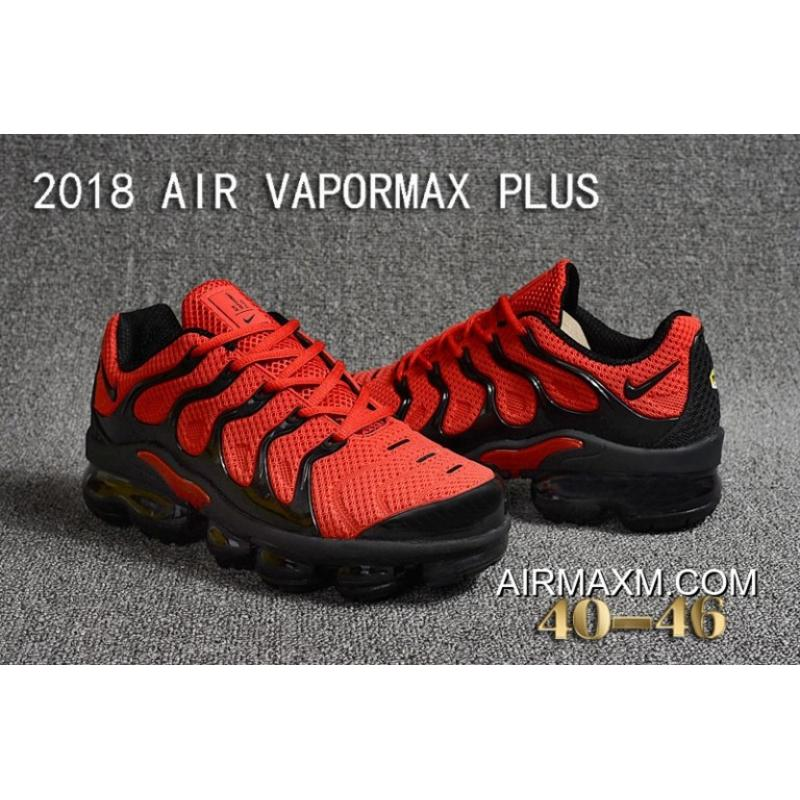 huge selection of ebfba 756f7 Latest Nike Air VaporMax Plus KPU Red Black