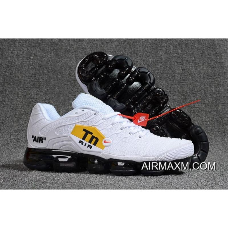 finest selection 4af0c 9478f Nike Air VaporMax Plus White Black Outlet