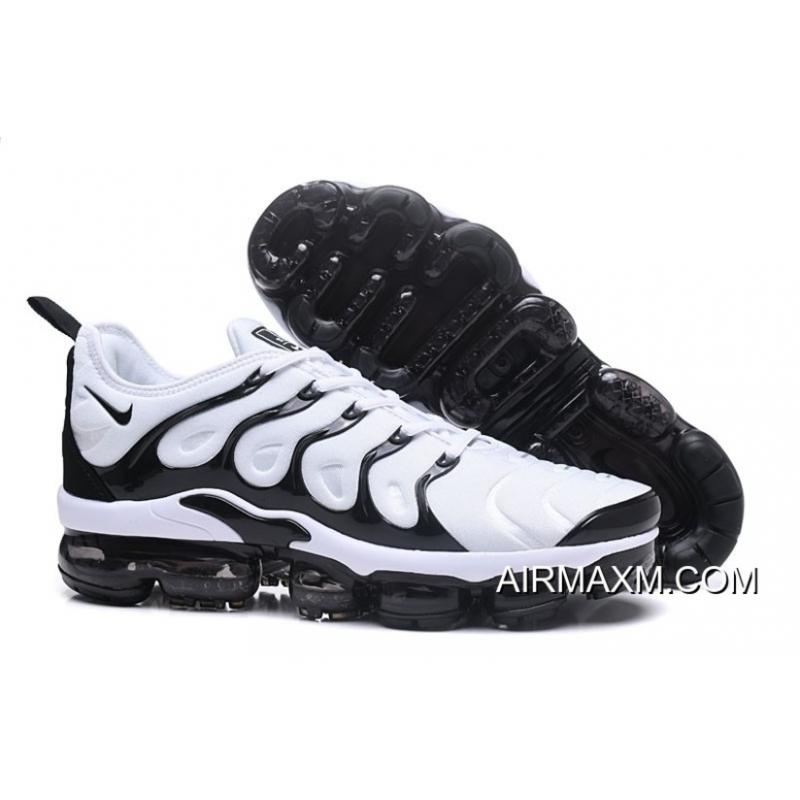 a820652ac03 Nike Air VaporMax TN Plus White Black Latest ...