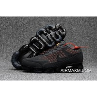 Nike Air Max 2018 Black Gray Orange Shoes For Sale