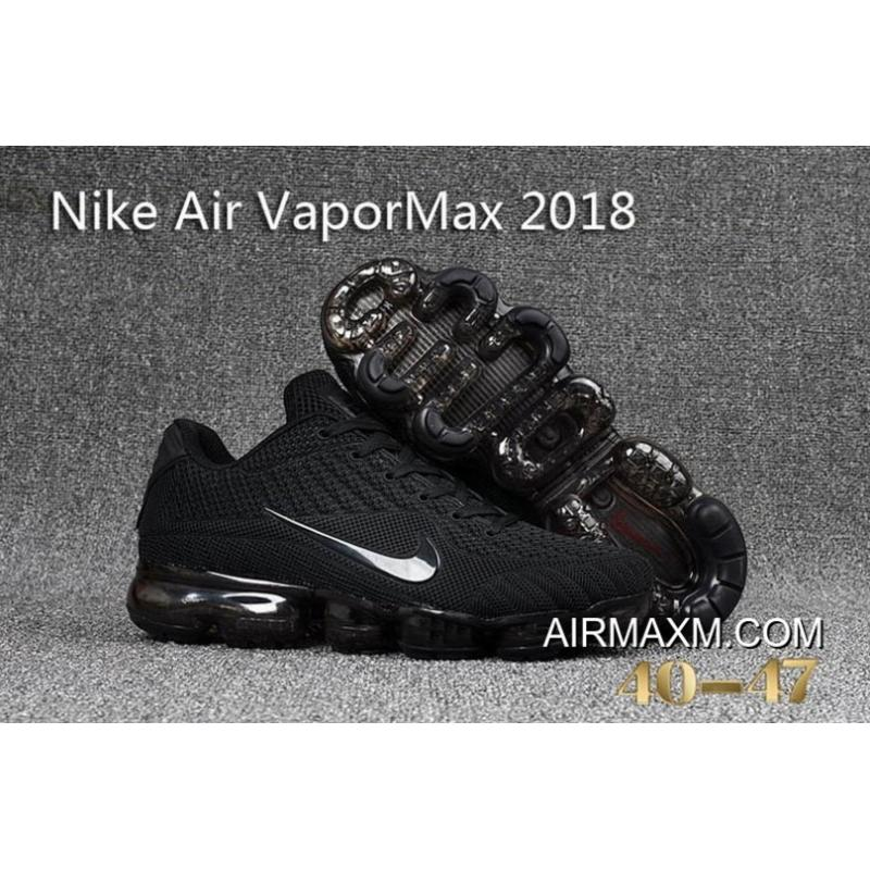 0f7b0a0564 Latest Nike Air Vapormax 2018 ALL Black Running Shoes, Price: $95.67 ...