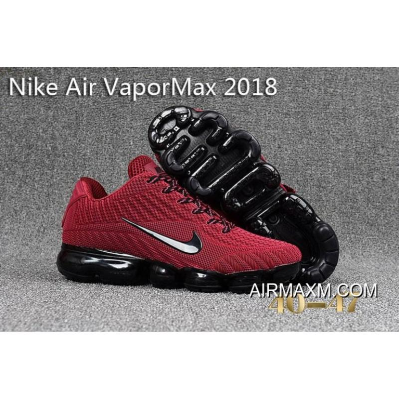 914215e15e For Sale Nike Air Vapormax 2018 Black Rose Red Running Shoes, Price ...