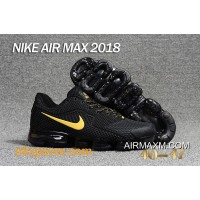 Nike Air Vapormax 2018 Black Yellow Outlet