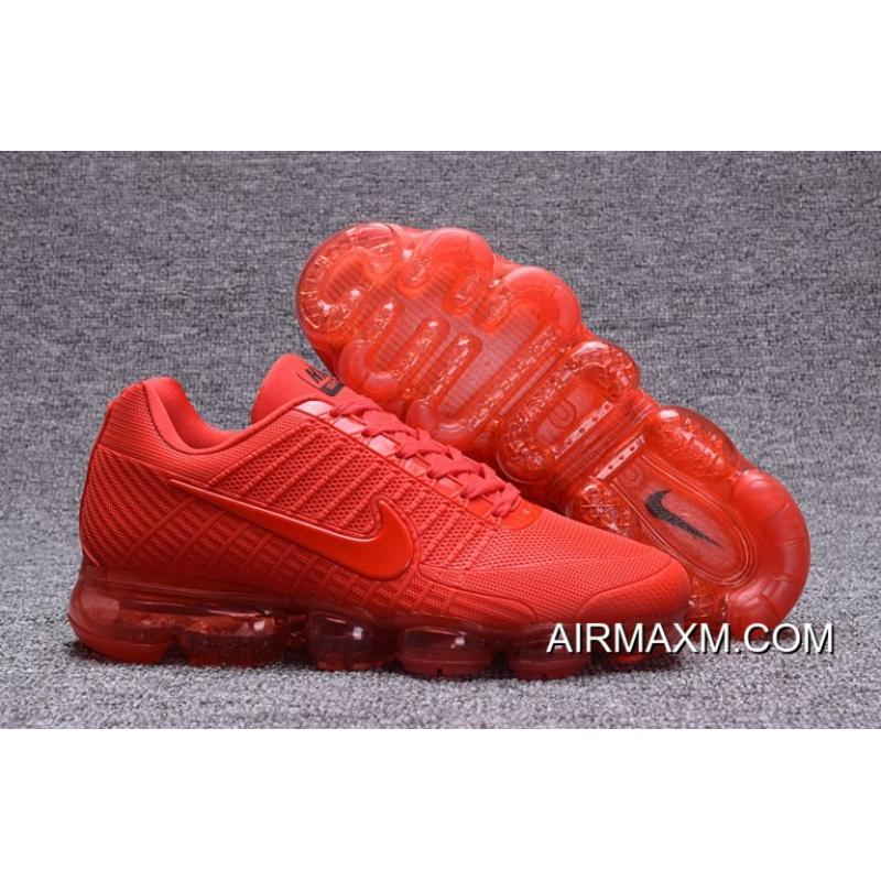 nike air vapormax all red