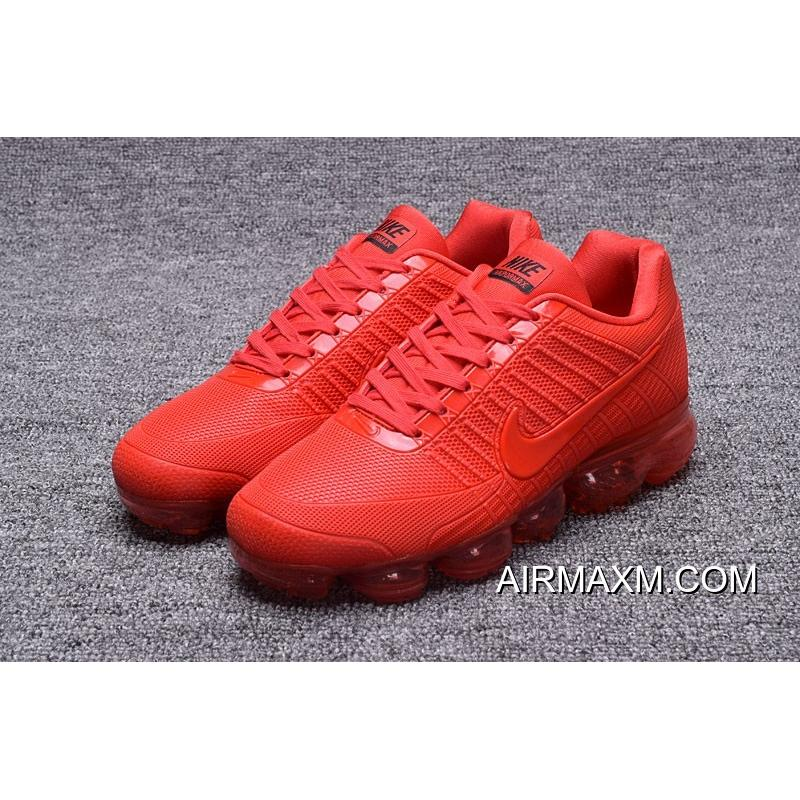 73aec86a929fa Big Deals Shop Nike Vapormax 2018 All Red Running Shoes, Price ...