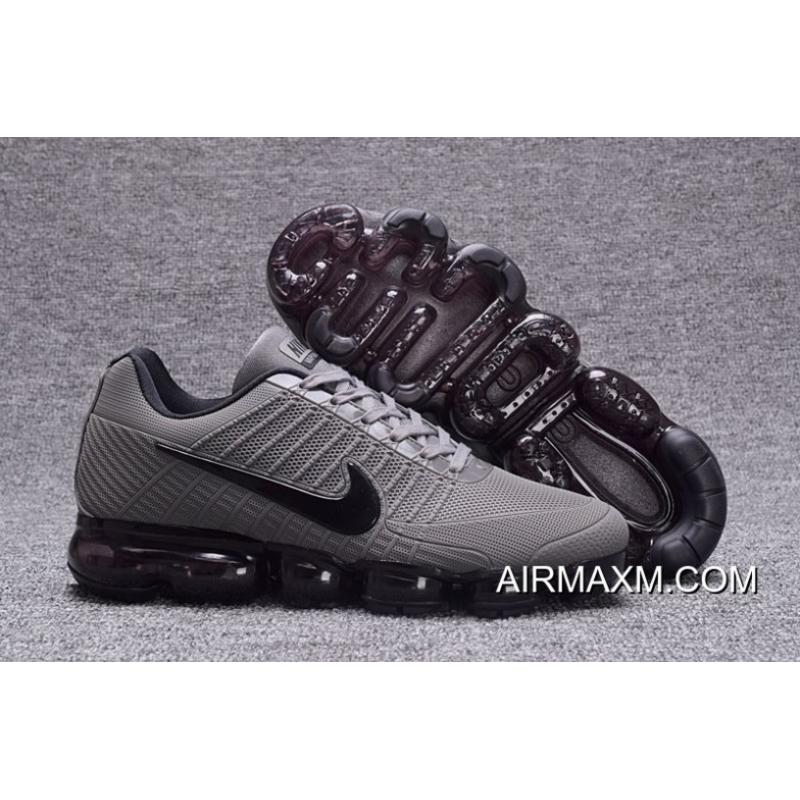 2320d33a66 Authentic Shop Nike Vapormax 2018 Gray Black Running Shoes, Price ...