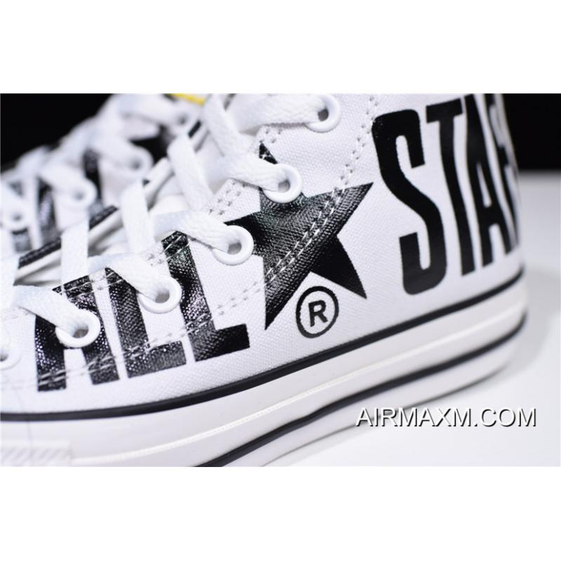 9530d4a95960 ... Women Men Converse All Star 100 Colors HI Big Logo White Black Where To  Buy ...