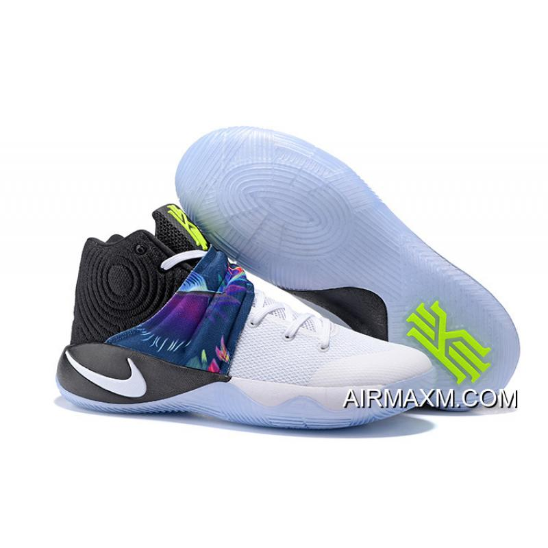 new arrival e7400 1269d coupon code for new year deals girls nike kyrie 2 parade white white black  f3d16 0a2ea