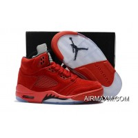 Super Deals Kids Air Jordan 5 Grey Black Red