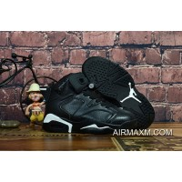 Kids Air Jordan 6 Black White Where To Buy