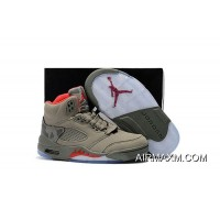 Tax Free Kids Air Jordan V Sneakers SKU:20052-207