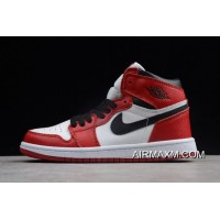 "Kid's Air Jordan 1 AJ1 High OG ""Chicago"" New Style"