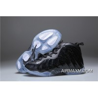 Kids Nike Air Foamposite One Black Shine For Sale