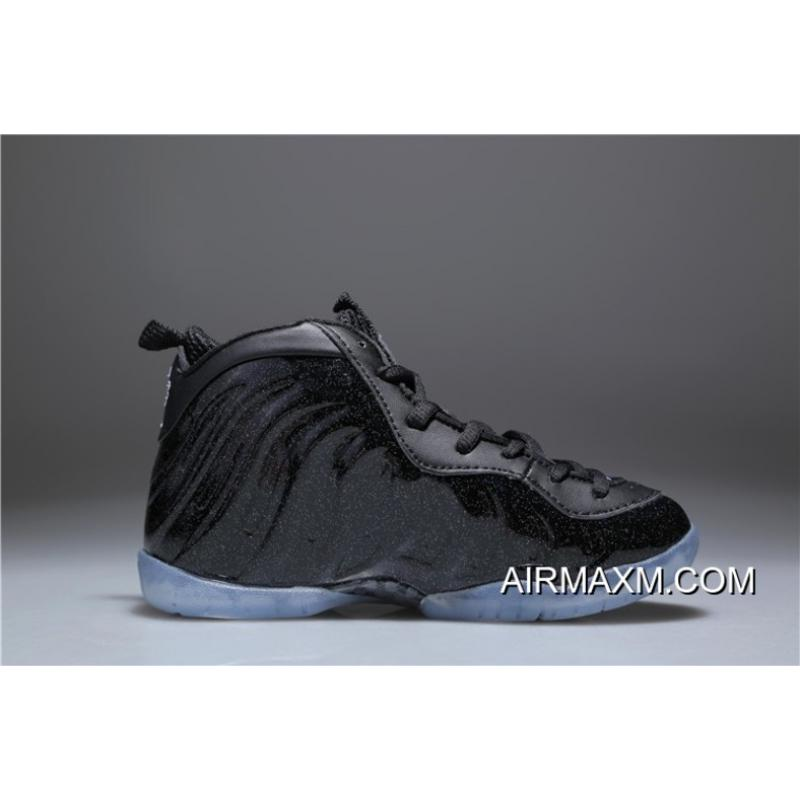 low priced 04df2 75b4a ... new arrivals kids nike air foamposite one black shine for sale 81fa1  f0f50