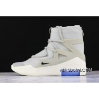 "Women/Men Big Deals Nike Air Fear Of God 1 ""Light Bone"" AR4237-002"