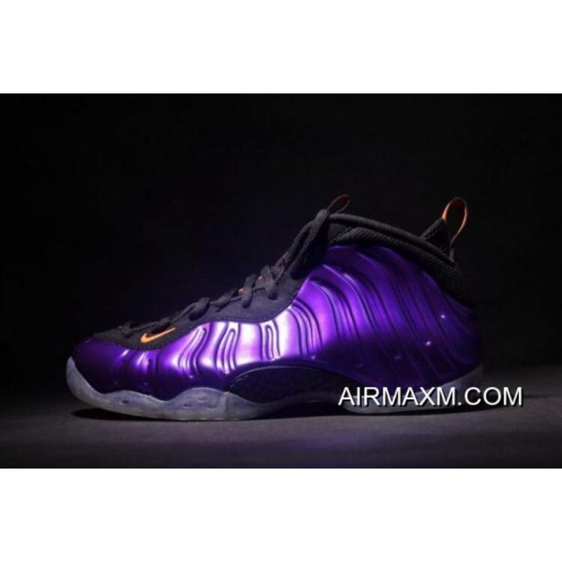 "1c298439bd8 Where To Buy Nike Air Foamposite One ""Phoenix Suns"" Electro Purple Total  Orange ..."