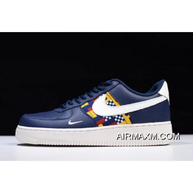 "c0d39d1ae3 Women/Men Buy Now Nike Air Force 1 Low ""Nautical Redux"" Navy/White ..."