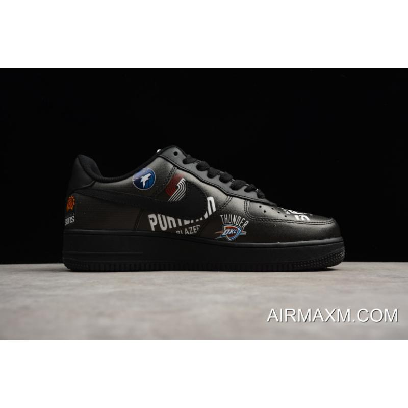 ... Latest Supreme X Nike Air Force 1 Low NBA Black Men s And Women s Size  ... 48fb92058d