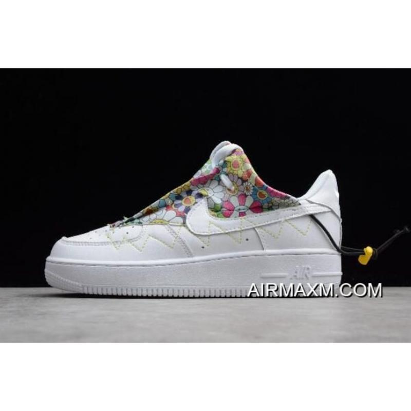 separation shoes cd79a b4e44 Nike Air Force 1 Low Womens Trainers White Pearl Pink White Flower Nike Air Force  1 Women WMNS Nike Air Force 1 07 White Flower QD1801-808 Outlet .