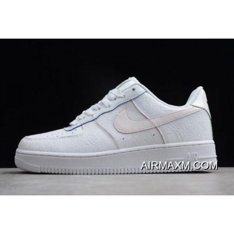 Women Men Nike Air Force 1 Low White Multicolor AQ4139-100 For Sale ... a84d0b7f30