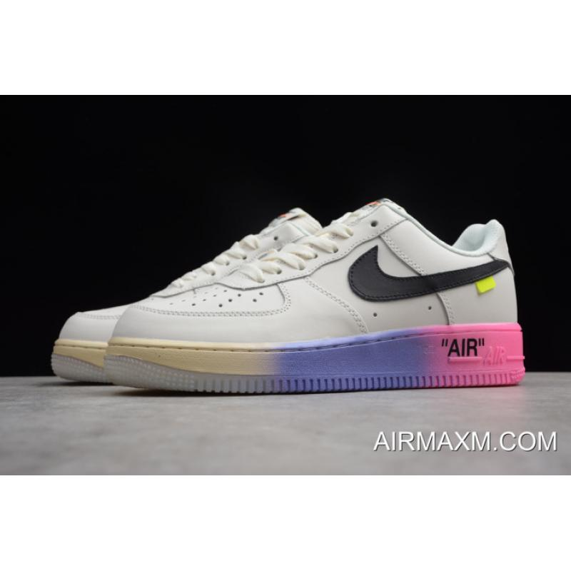 """huge sale ab8a8 91ee8 ... Women Men Tax Free Off White X Nike Air Force 1  07 LV8 """" ..."""