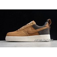 Women/Men Carhartt WIP X Nike Air Force 1 '07 Premium Ale Brown/Sail-Ale Brown AV4113-200 Top Deals