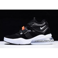 "Discount Nike Air Force 270 ""Metallic"" Black/Metallic Silver-White AH6772-001"