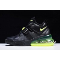 Best Nike Air Force 270 Black/Fluorescent Green Free Shipping