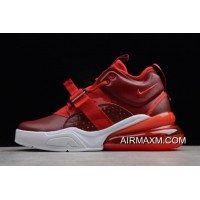 "Free Shipping Nike Air Force 270 ""Red Croc"" Team Red/Gym Red/White AH6772-600"